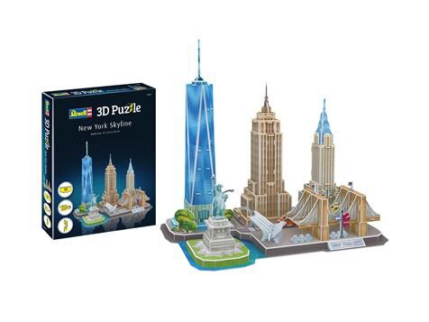 Revell 00142 CITY LINE New York 3D Puzzle