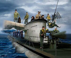 Revell 02525 GERMAN NAVY CREW (WWII)