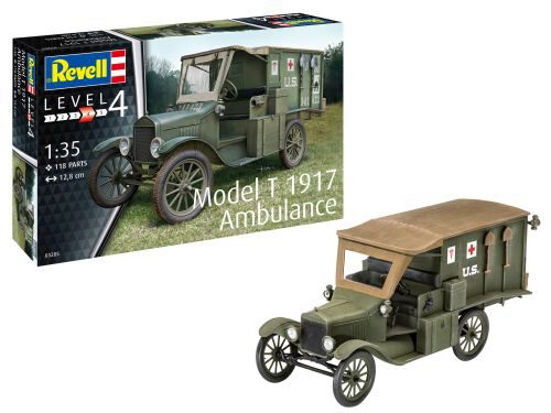 Revell 03285 Model T 1917 Ambulance