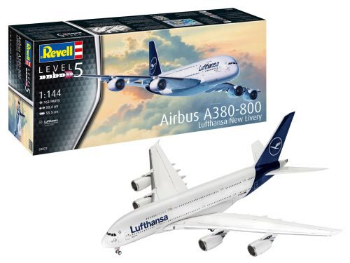 Revell 03872 Airbus A380-800 Lufthansa New Livery