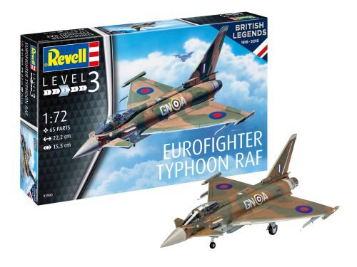 Revell 03900 100 Years RAF: Eurofighter Typhoon RAF