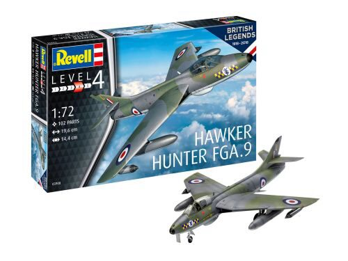 Revell 03908 100 Years RAF: Hawker Hunter FGA.9