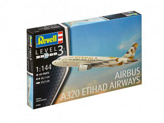 Revell 03968 Airbus A320 ETIHAD AIRWAYS