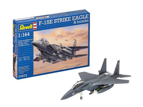 Revell 03972 F-15E STRIKE EAGLE &amp: bombs