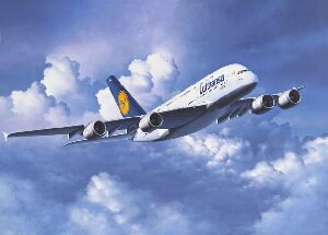 Revell 04270 Airbus A380-800 Lufthansa