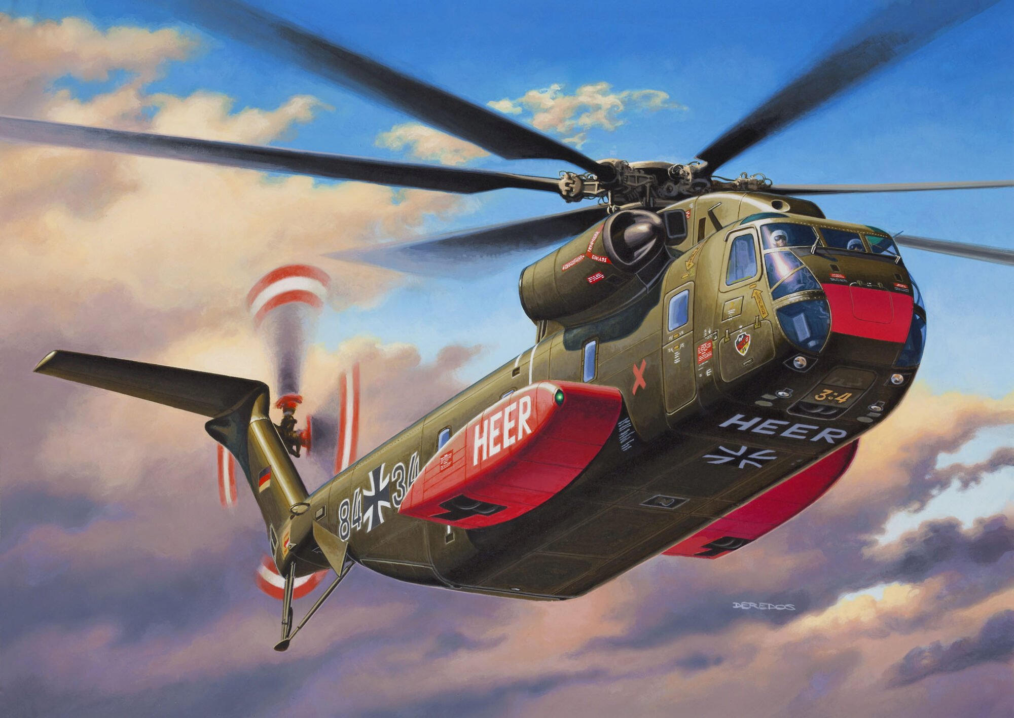 Revell 04858 CH-53 G Heavy Transport Helicopter