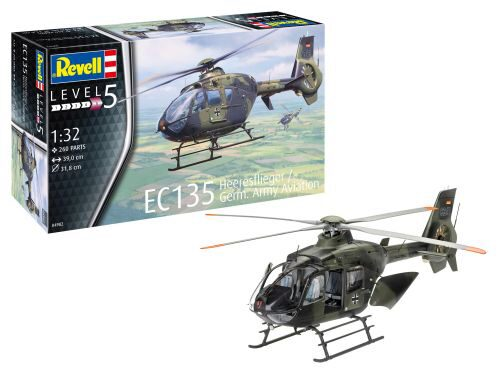 Revell 04982 EC 135 Heeresflieger / German Army Aviation