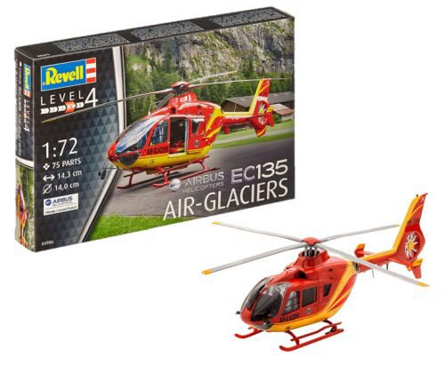 Revell 04986 Airbus Helicopters EC135 AIR-GLACIERS