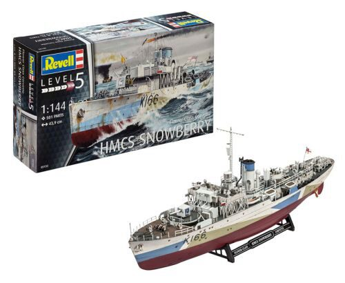 Revell 05132 Flower Class Corvette HMCS SNOWBERRY
