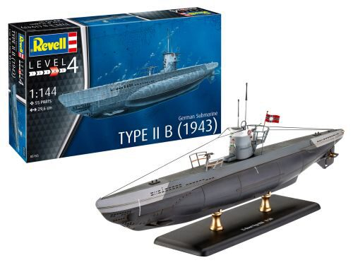 Revell 05155 German Submarine Type IIB (1943)
