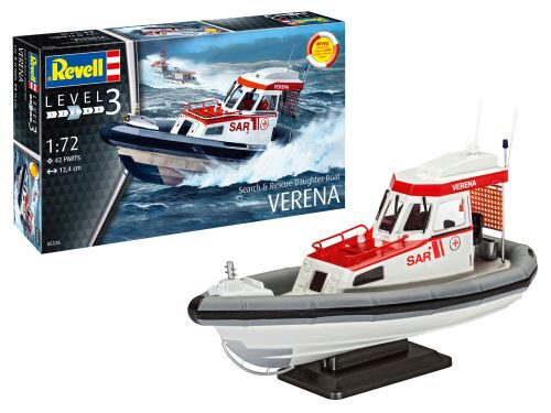 Revell 05228 Rescue Boat DGzRS VERENA