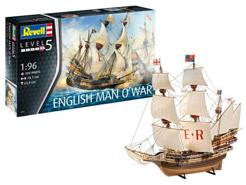Revell 05429 English Man O War
