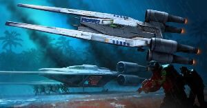 Revell 06755 Star Wars Item Build & Play Rebel U-Wing Fighter