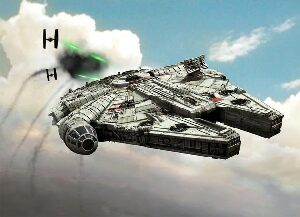 Revell 06765 Star Wars Build & Play Millennium Falcon