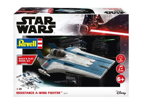 Revell 06773 Resistance A-wing Fighter, blue