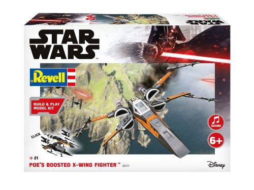 Revell 06777 Poe's Boosted X-wing Fighter