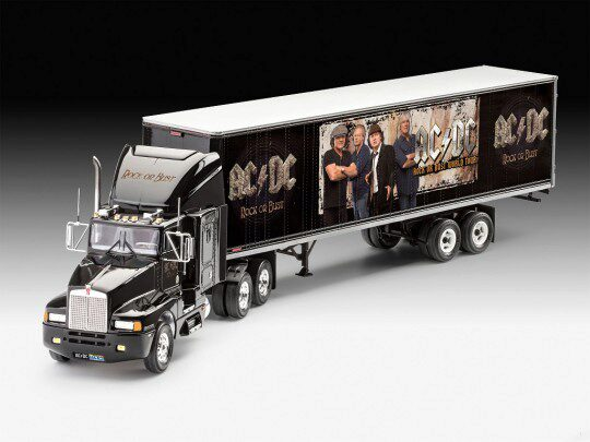 Revell 07453 Truck & Trailer  AC/DC - Limited Edition