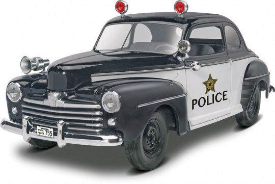 Revell 14318 48 Ford Police Coupe 2n 1