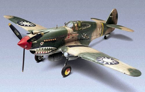Revell 15209 P-40B Tiger Shark