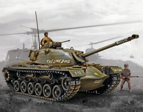 Revell 17853 M-48 A2 Patton Tank