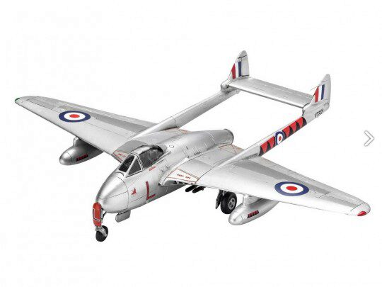Revell 63934 Model Set Vampire F Mk.3
