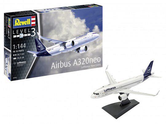 Revell 63942 Airbus A320 Neo Lufthansa