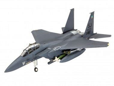 Revell 63972 Model Set F-15E STRIKE EAGLE &amp: bombs