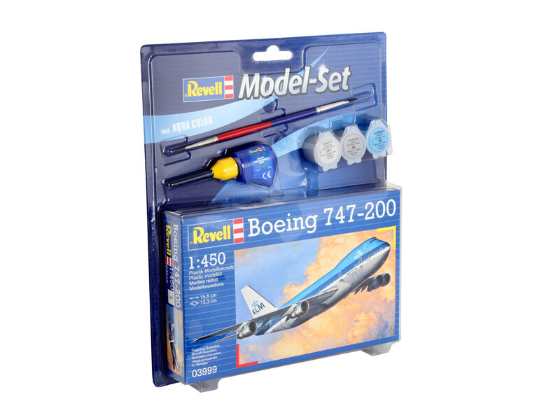 Revell 63999 Model Set Boeing 747-200