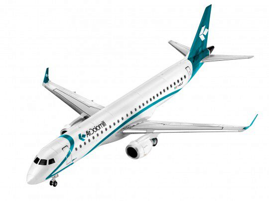 Revell 64884 Model Set Embraer 195 AIR DOLOMITI