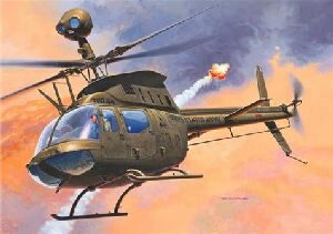 Revell 64938 Model Set Bell OH-58D Kiowa
