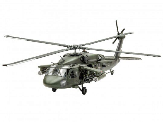 Revell 64940 Model Set UH-60A Transport Heli