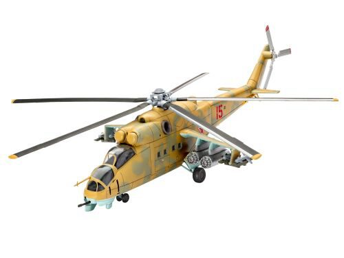 Revell 64951 Model Set Mil Mi-24D Hind