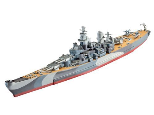 Revell 65128 Model Set Battleship U.S.S. Missouri (WWII)