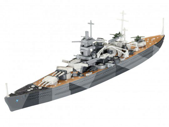 Revell 65136 Model Set Battleship Scharnhorst