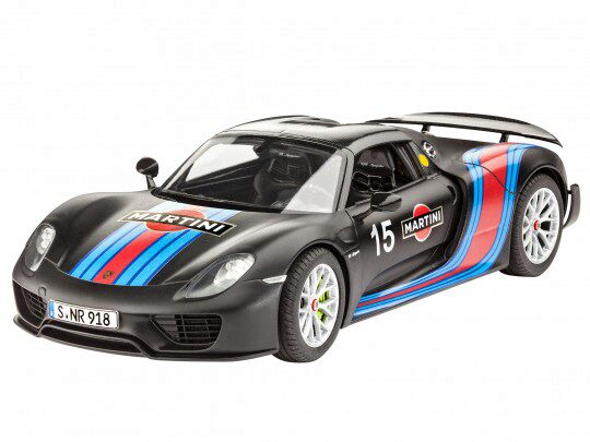 Revell 67027 Model Set Porsche 918  Weissach Sport