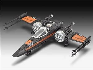 Revell 06750 Star Wars Poe's X-wing Fighter Build & Play