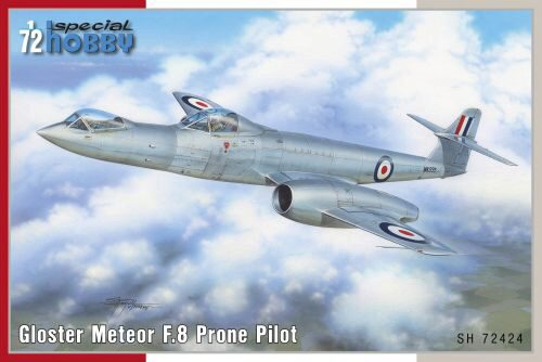 Special Hobby SH72424 Gloster Meteor F.8 Prone Pilot