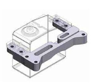Tamiya 56531 ALU Shift Servo Mount for Truck