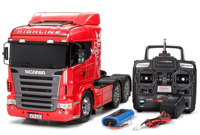 Tamiya 23670 Scania R620 Highline Full Op. Red Finished