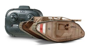 Tamiya 48214 WWI British Tank Mk.IV Male  mit RC Fernbedienung