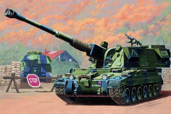 Trumpeter  00324 1/35 British 155 mm AS-90 S.P