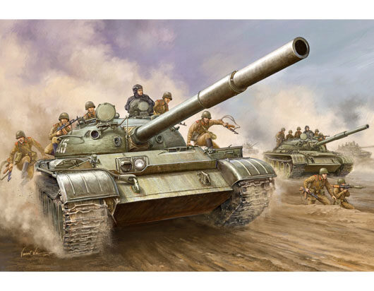 Trumpeter  00376 1/35 T-62 Main Battle Tank Mod1962