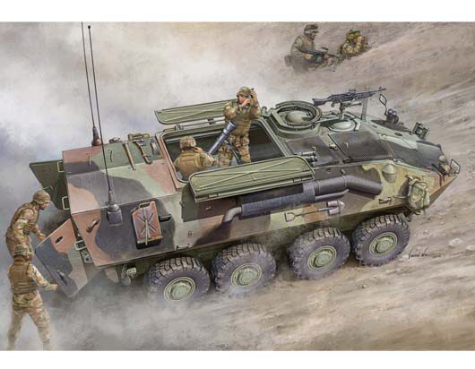 Trumpeter 00391 LAV-M (Mortar Carrier Vehicle)
