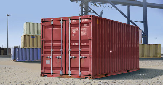 Trumpeter  01029 1/35 20-Fuss Container