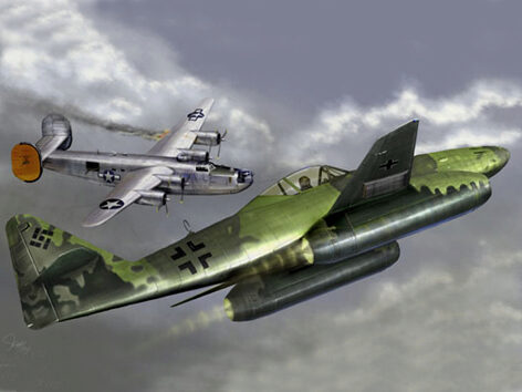 Trumpeter  01319 1/144 Me 262 A-1