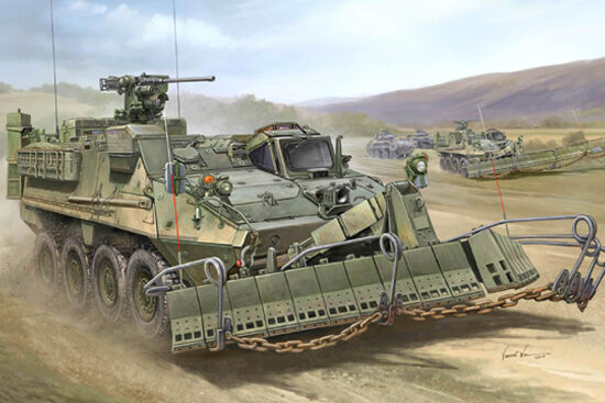 Trumpeter  01575 1/35 M1132 Stryker Engineer Sq