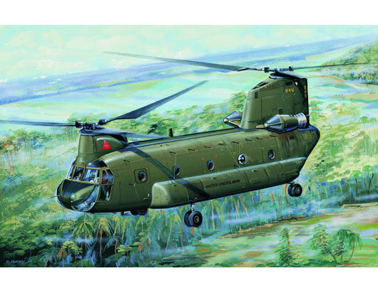 Trumpeter  01621 1/72 CH47A Chinook Medium-lif