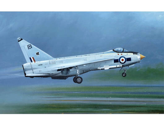 Trumpeter 01634 English Electric Lightning F.1A/F.2