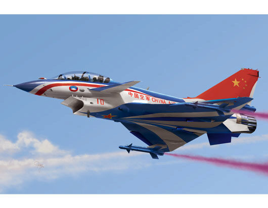 Trumpeter  01644 1/72 Chinese J10S Fighter