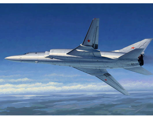 Trumpeter 01655 Tu-22M2 Backfire B Strategic bomber